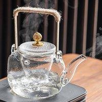Square Glass Teapot
