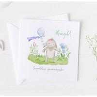 Big Sister New Baby Card Christening Card ..V2a13