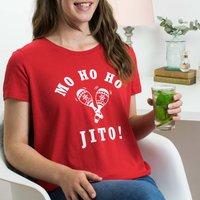 Mojito 'Mo Ho Ho Jito' Christmas T Shirt