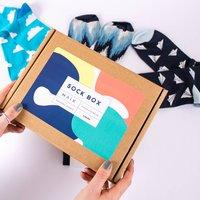Colourful Mens Sock Box
