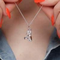 Mermaid Charm Necklace With Personalised Message Card