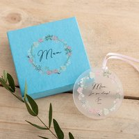 Personalised Mother's Decoration And Gift Box