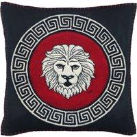 Leo Hand Embroidered Zodiac Cushion