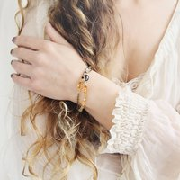 Citrine And Opal Bracelet