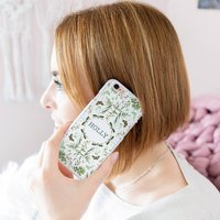 Personalised Botanical iPhone Case