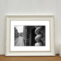 Curly Pillars, King's Lynn Photographic Art Print