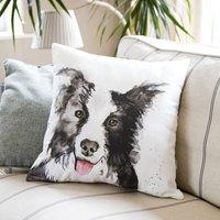 Inky Dog Cushion