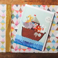 Noahs Ark Mini Card