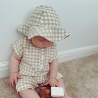 Baby Gingham Romper