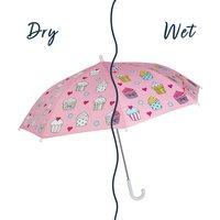Children's Colour Changing Cupcake Umbrella