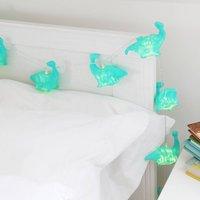 Origami Dinosaur String Lights