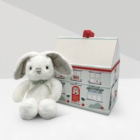 Personalised Christmas Baby Bunny With Gift Box