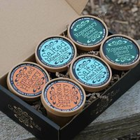 Savoury Nuts Selection Six Tubs