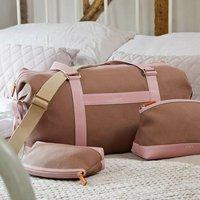 Luxury Sustainable Canvas Weekender Bag