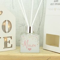 Personalised Floral Heart Name Reed Diffuser