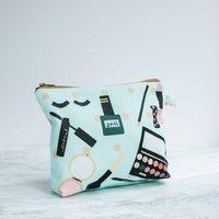 Make Up Pattern Wash Bag