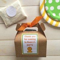 Safari Personalised Baking Kit Party Bag