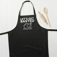 Let's Get Basted Christmas Apron