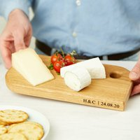 Personalised Solid Oak Chopping/Cheese Board
