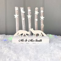 Personalised Mr And Mrs Christmas Decoration