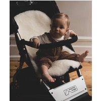 Baa Baby Pram Style Sheepskin Pram Liner Ivory Shorn