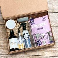The Groom Box Dog Grooming Gift Set
