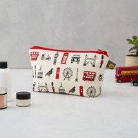 London Icons Cosmetic Bag