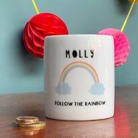 Follow The Rainbow Childrens Money Box