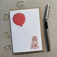 Personalised Cavapoo Birthday Card