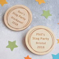 Personalised Stag Do Badges