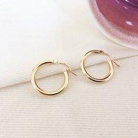 Chelsea 9ct Gold Hoop Earrings, Gold
