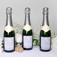 Personalised Bridesmaids Thank You Champagne Gifts