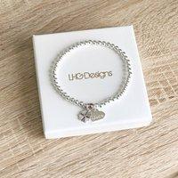 Four Leaf Clover Good Luck Bracelet Gift For Her