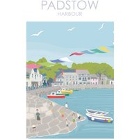 Padstow Print Cornwall