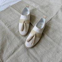 Suede Tassel Shoes
