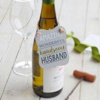 Husband Gift Tag Sign
