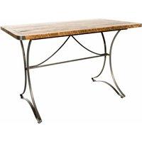 Industrial Vintage Rectangular Bistro Dining Table