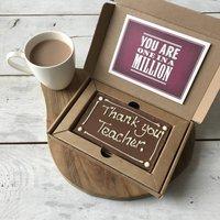 Thank You Teacher Millionaire Shortbread