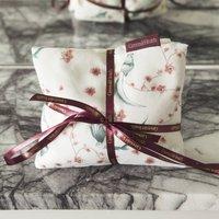 Wheat Bag With Lavender In Kiji Bird Print