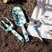 Floral Garden Tool Set In Gift Bag