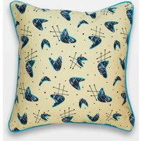 Midcentury Inspired Cushion 'Atomic Blonde' Design