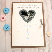 Personalised Baby Scan Photo Scratchcard