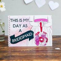 Bridesmaid Wedding Activity And Keepsake Book