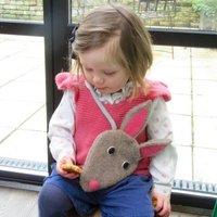 Rabbit Handbag For Children
