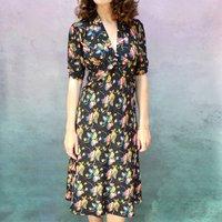 Boheme Print Tea Dress
