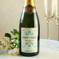 Personalised Mothers Day Prosecco Or Champagne
