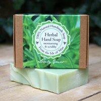 Handmade Palm Oil Free Rosemary Herbal Hand Soap