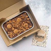 Vegan Cookie Brownie Slab