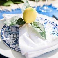Amalfi Coast Tablescape Table Décor Package