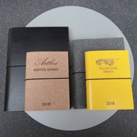 Bespoke Corporate Personalised Leather Diary Journal